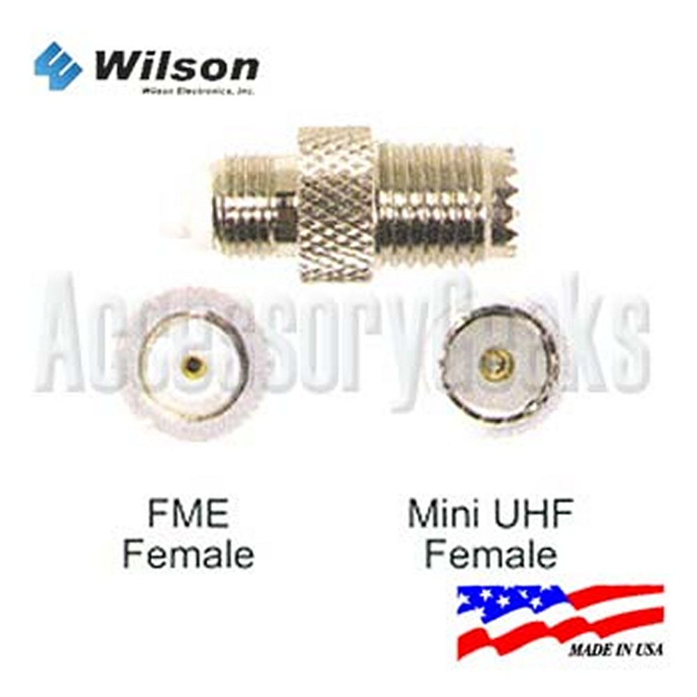 FME Female to Mini UHF Female Connector - 971103
