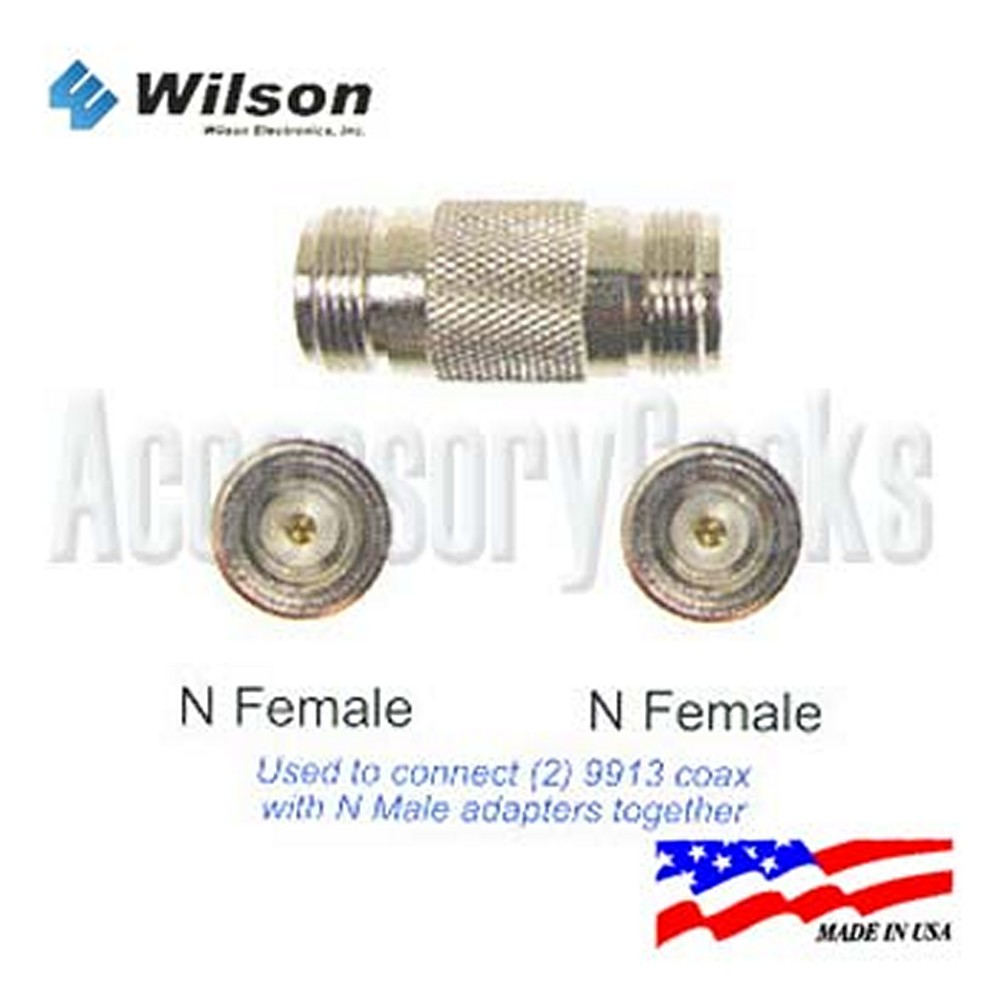 N Female to N Female Connector - 971117