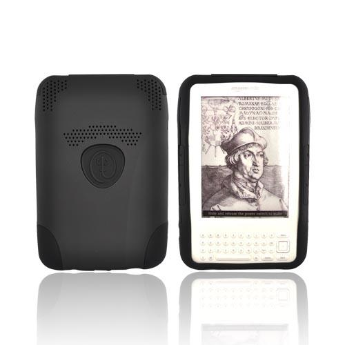 Original Trident Amazon Kindle 3 Aegis Hard Case Over Silicone w/ Audio Jack, AG-KND-BK - Black
