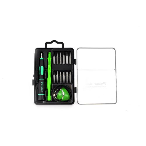 Original Pro's Kit Universal 16 in 1 Apple Tool Kit - Black/ Green