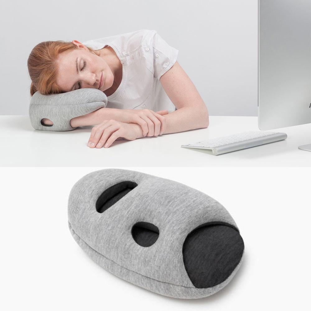 Accessory Geeks Ostrich Mini Glove Arm Hand Break Pillow [Gray/ Black]