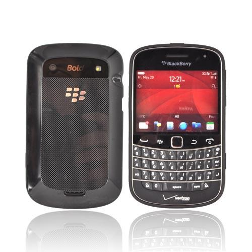 Original Blackberry Bold 9900, 9930 Hard Shell Case w/ Textured Back, ASY-38174-001 - Black