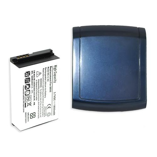 BlackBerry 8800 Extended Battery - Dark Blue