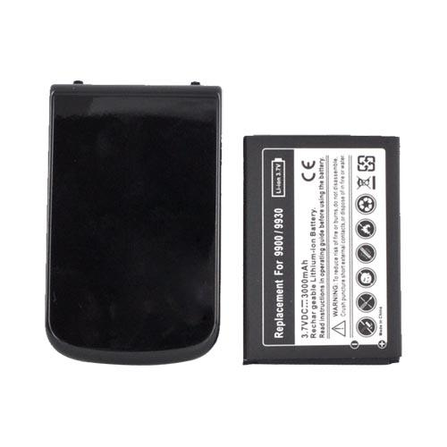 Blackberry Bold 9900, 9930 Extended Battery w/ Door (2800 mAh) - Black