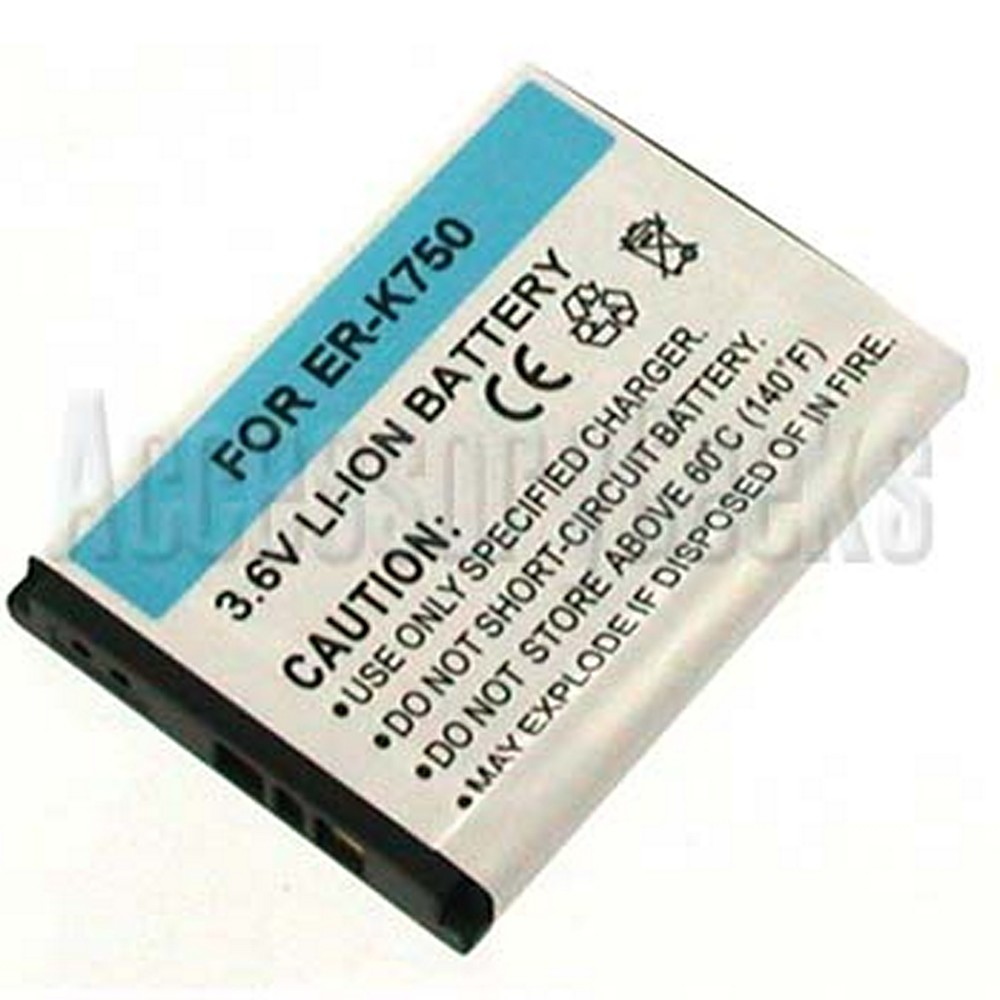 Sony Ericsson W800, K750, Z520, W600, Z300, J220  Standard Replacement Battery
