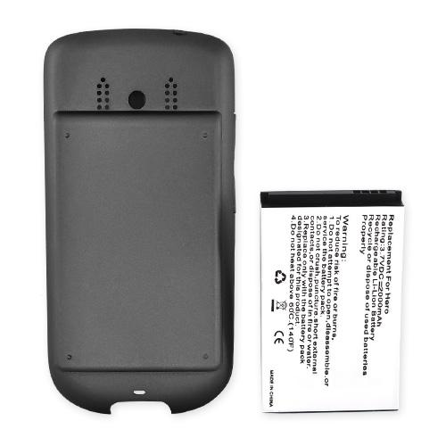 Sprint HTC Hero Extended Battery w/ Rubberized Battery Door - Dark Gray