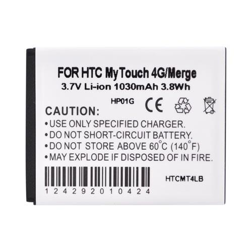 T-Mobile MyTouch 4G/Thunderbolt Standard Battery Replacement (1030mAh)