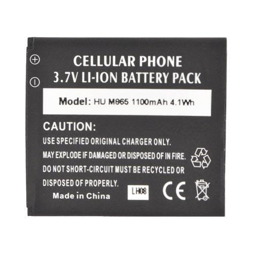 Huawei Ascend 2/ Prism/ Summit M865 Standard Battery Replacement (1100 mAh) - Black