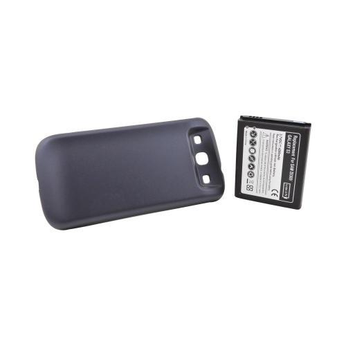 Samsung Galaxy S3 Extended Battery w/ Door (4200 mAh) - Navy Blue