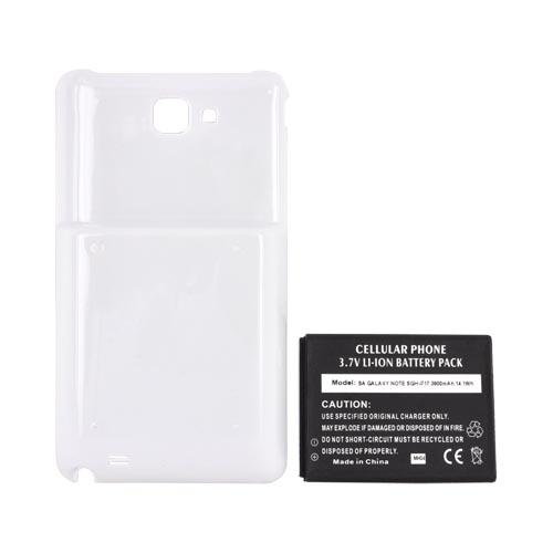 Samsung Galaxy Note Extended Battery w/ Door (3800 mAh) - White