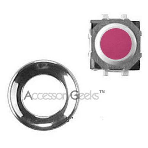 Blackberry Trackball Replacement Kit - Pink