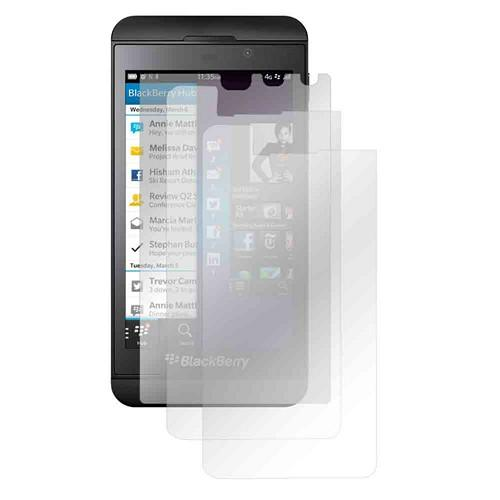 Screen Protector Medley w/ Regular, Anti-Glare, & Mirror Screen Protectors for Blackberry Z10