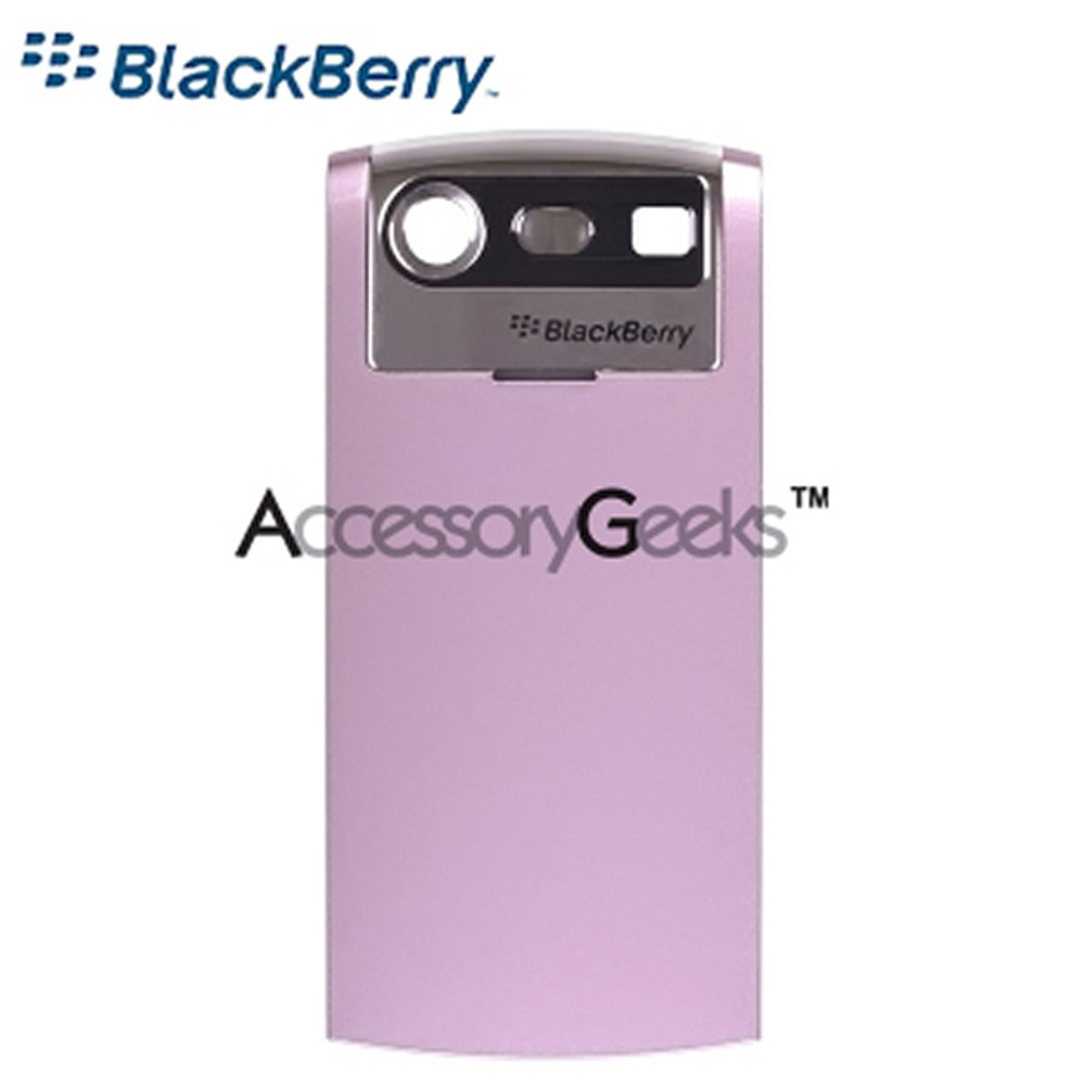 Original BlackBerry Pearl 8130 Standard Battery Door - Baby Pink