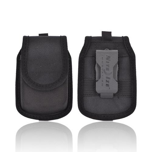Original Nite Ize Universal Blackberry Pouch w/ Rotating Belt Clip & Power Down Activator, BHC2-03-01 - Black
