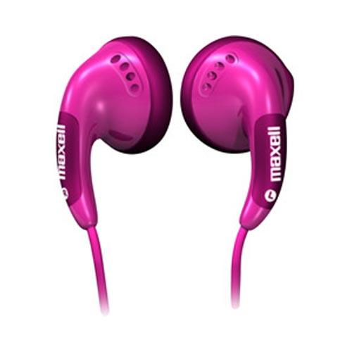 Original Maxell Color Universal Stereo Headset, CB-PINK - Pink (3.5mm)