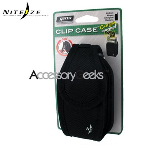 Original Nite Ize Universal Cargo Nylon Case w/ Strong Flex Clip - Black (PUT)