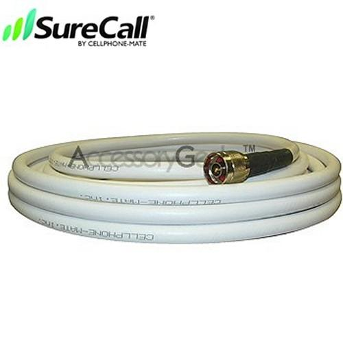 Cellphone-Mate CM400 Ultra-Low-Loss Coaxial Cable CM001-20 (20 ft) - White