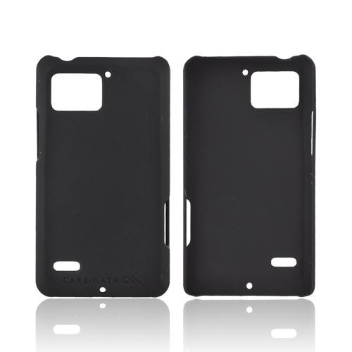Original Case-Mate Motorola Droid Bionic XT875 Barely There Rubberized Case, CM016587 - Black