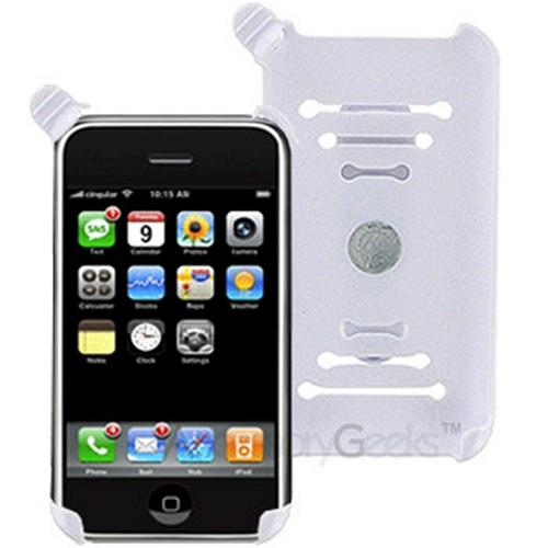 Apple iPhone Screen Protector & iPhone holster w/ belt clip Combo - Clear