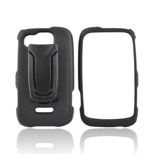 Original Bodyglove Motorola Citrus WX445 Snap on Case w/ Kick Stand Belt Clip, CRC91668 - Black