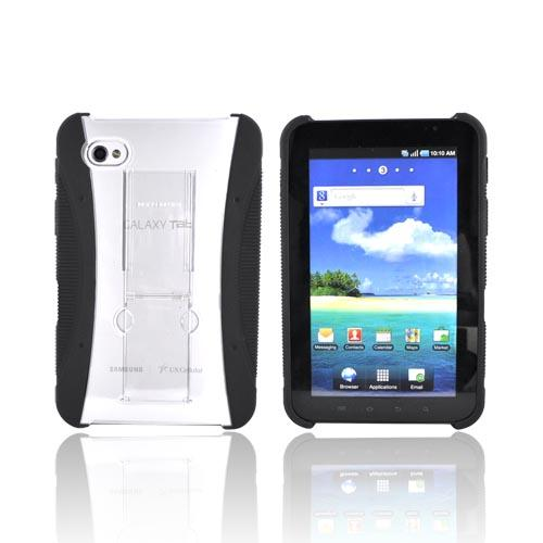 Original Bodyglove Samsung Galaxy Tab P1000 Snap-On Hard Case w/ KickStand, CRC92072 - Black
