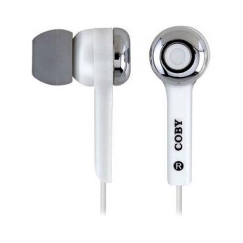 Original Coby Jammerz Digital Stereo Earphones (3.5mm), CVE52-WH - White