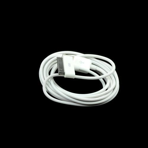 Wonderful White 6 ft. Apple iPhone/ iPod USB Charge & Sync Data Cable