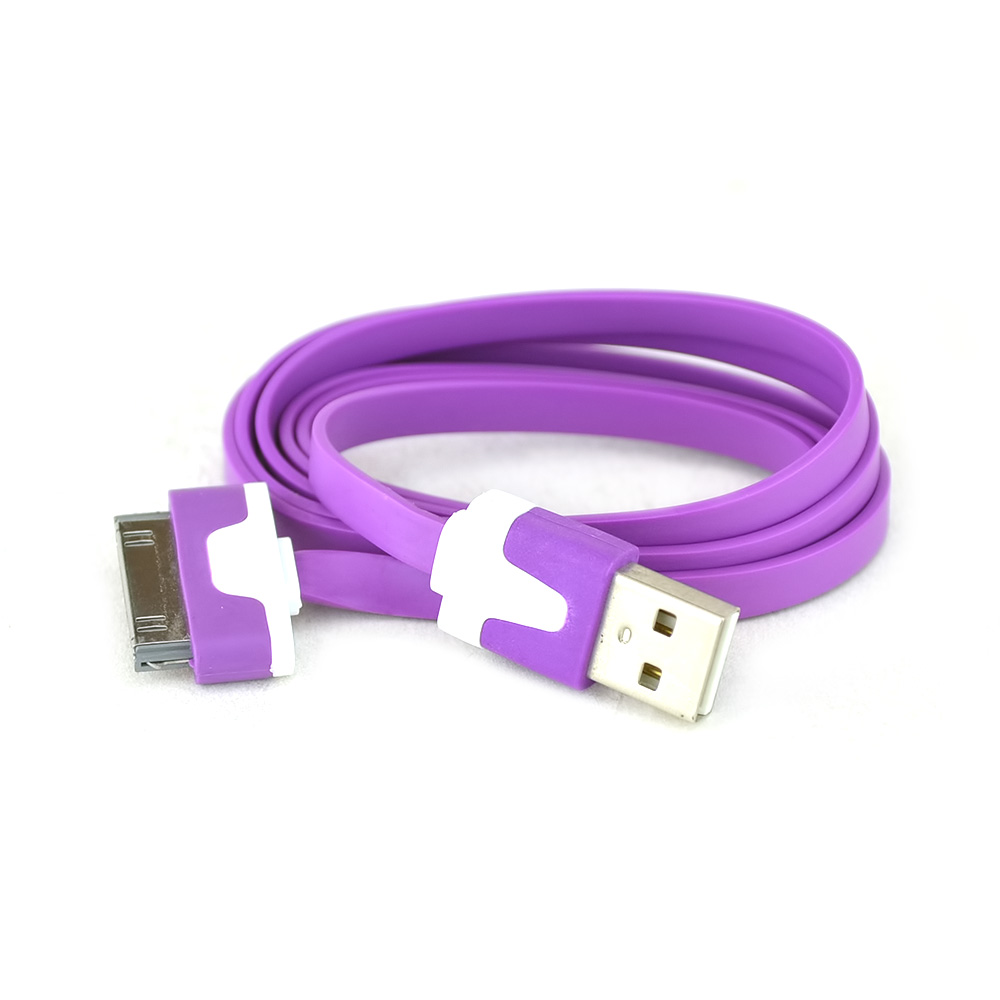 Apple iPhone/ iPod USB Data Cable - Purple