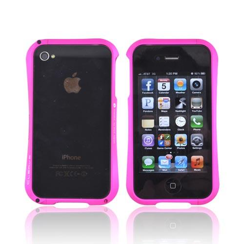 Original Cleave AT&T/ Verizon Apple iPhone 4, iPhone 4S Aluminum Bumper Case, DCB-IP4OA6HPI - Hot Pink