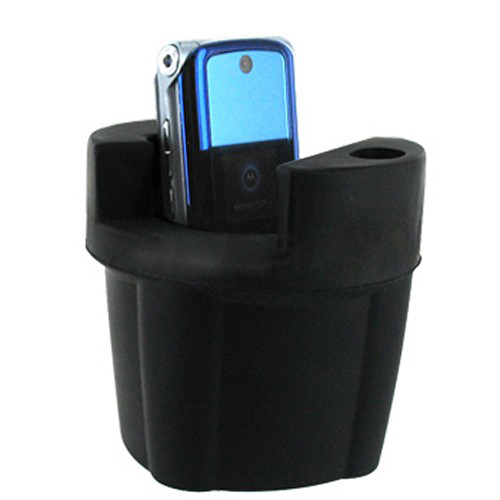 Flex Cup Vehicle Cell Phone Holder - Black