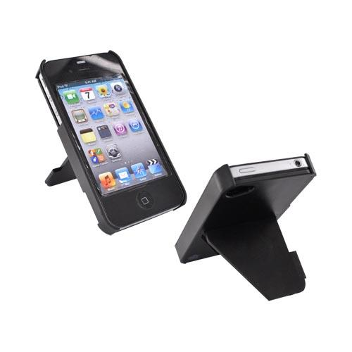 Original TRTL BOT Apple AT&T/ Verizon iPhone 4, iPhone 4S TRTL STAND Hard Case, DR2012BLK - Black