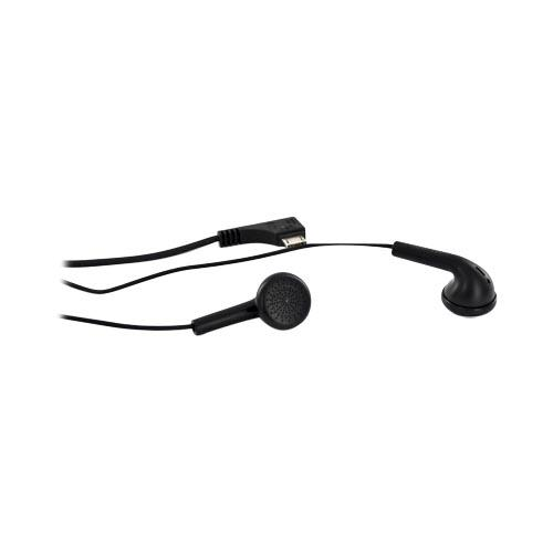 Original Samsung Micro-USB Stereo Headset End/Ans Button w/ Mic- Black