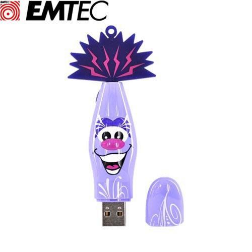 Original EMTEC 2GB Flash Drive, EKMMD2GKOCHA - Purple Chapala