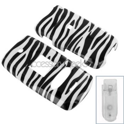 Verizon Audiovox 8950 Hard Case - Zebra