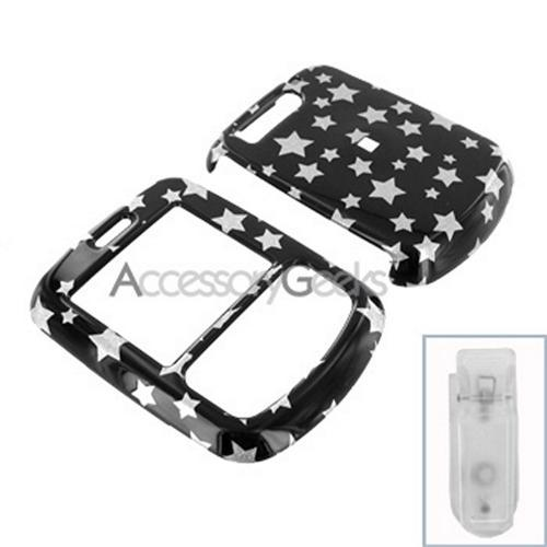 Verizon Blitz Hard Case - Silver Stars on Black