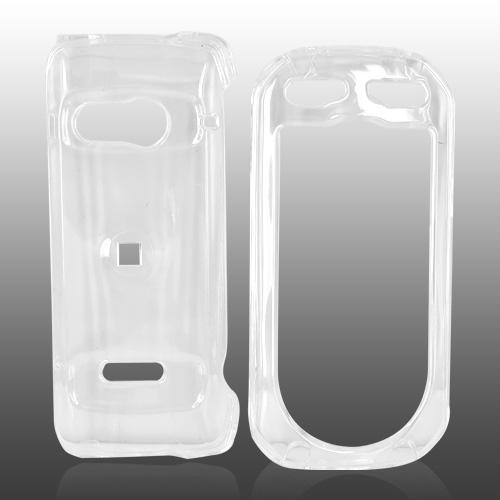 Casio G'zOne Brigade C741 Hard Case - Transparent Clear