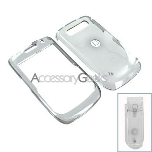 Blackberry Curve 8900 Hard Case - Transparent Smoke