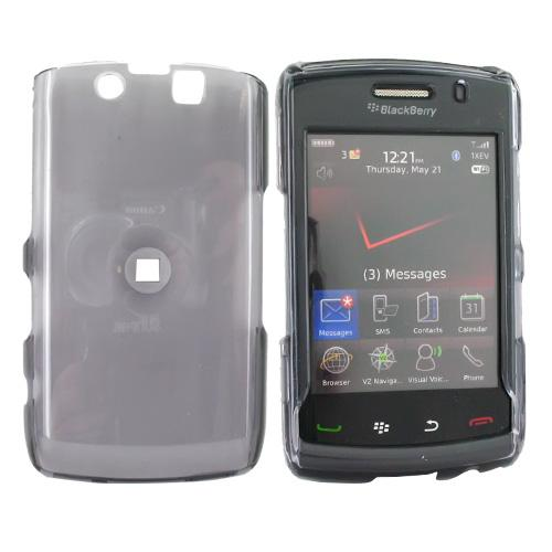 Blackberry Storm 2 9550 Hard Case - Transparent Smoke