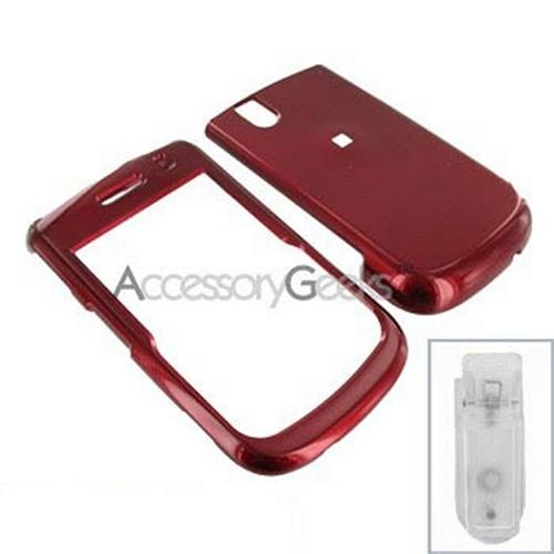 Blackberry Bold 9650 & Tour 9630 Hard Case - Red
