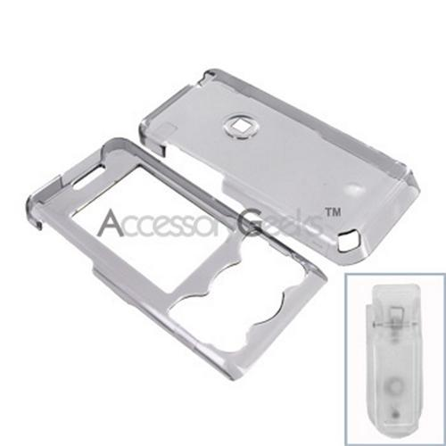Sony Ericsson W580 Hard Case - Transparent Smoke