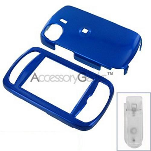 HTC MOGUL 6800 Protective Hard Case - Blue