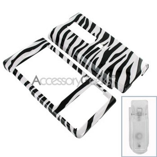 Verizon HTC Touch Pro Hard Case - Zebra