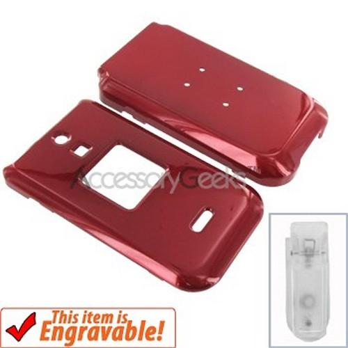 Kyocera E1000 Hard Case - Red