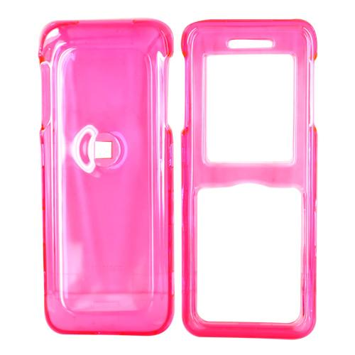 Kyocera Domino S1310 Hard Case - Transparent Pink