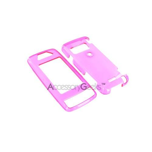 LG Voyager Hard Case - Transparent Magenta