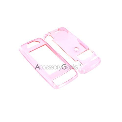 LG Voyager Hard Case - Transparent Baby Pink