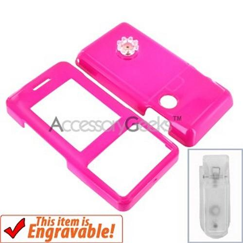 LG Chocolate Hard Case - Hot Pink