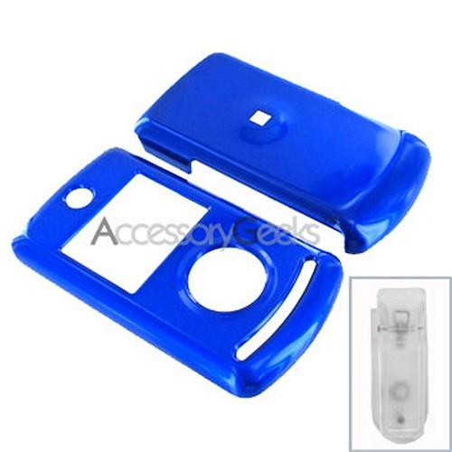 LG Chocolate 3 Hard Case - Blue