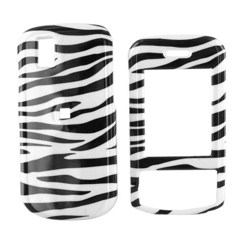 LG Shine II GD710 Hard Case - Zebra Design