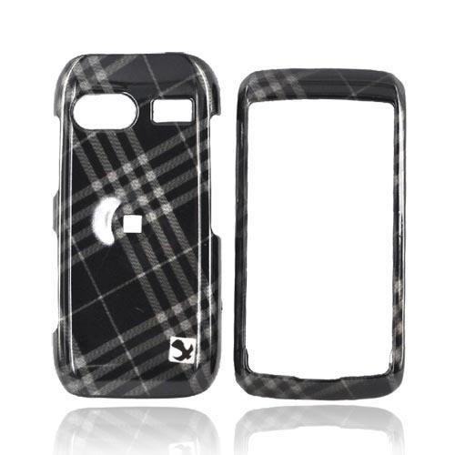 LG VU PLUS GR700 Hard Case - Gray Diamonds